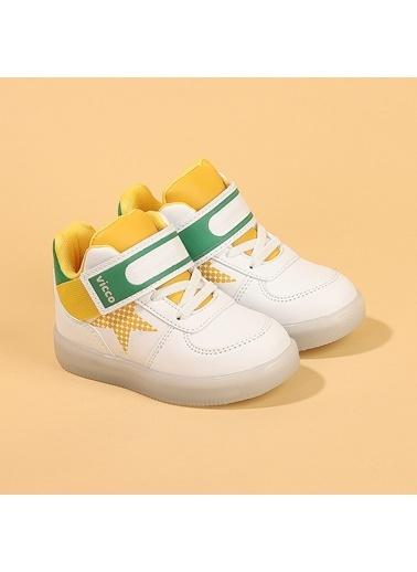 Vicco 220.B20K.106 Magic  Işıklı Bot Ayakkabı Beyaz